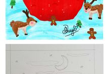 My Illustration / All my illustration that can't stop it... Hellow My imagination, you're in good place...^^...