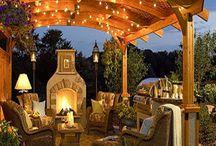 Backyard decor / In the future something amazing like thie