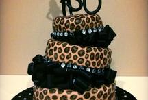 30th Leopard Print Birthday Cakes