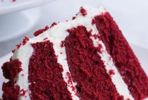 red velvet cakes and treats