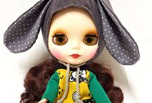 Lock 'n' Sew • BLYTHE Caps & Hats / Caps & Hats for Blythe Dolls handmade by me