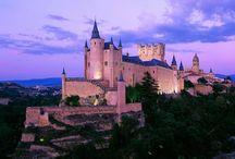 Castelul Alcazar din Segovia / Simbolul regiunii Castilla y León, Spania