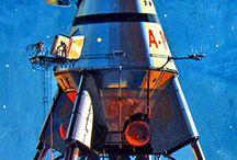 Retro Space Art