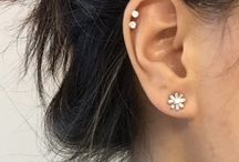 Helix ear piercing