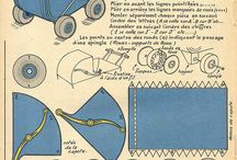 Modely z papíru a jiné