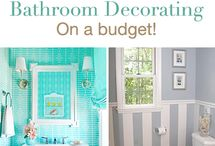 Bathroom remodeling/decorating on a budget