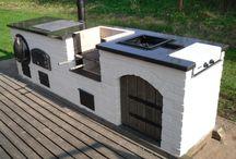 • barbecue hut