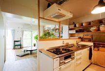 リノベーションアイディア〜キッチン収納
