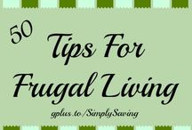 Tips for Frugal Living / Delighting in the Frugal Living is a wonderful thing.  Going over budget on a bunch of unneeded stuff, bargain or not, may very well net you a cluttered home, an empty bank account, and less time for the things that matter. / by Margie Forrest