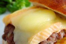 Hamburger variés