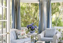 blue-white-stripes ideas