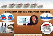 Russ Whitney-Best Ways Of Property Investment / Russ Whitney's Property Investment offers many profitable opportunities in real estate for all levels of investors.