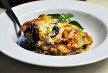 Lasagnas/lasagna-type dishes