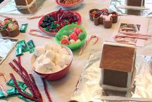 Gingerbreadhouse party