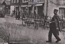 Films d'archives / Mercredi 26 juillet 1944 Echange de biens entre des riverains normands et des soldats américains (cigarettes...).