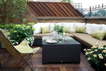 Patios terrace n backyards