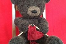 knitting bear