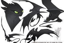 Dragons - Drawings, Flight Rising, etc.