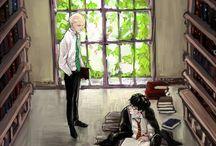 Drarry / Una pareja que me encanta... del odio al amor Draco x Harry