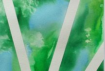 "Color field stripes / ""When my painting makes you feel good, my mission is accomplished.""- Emilia Switala. www.etsy.com/shop/EmiliaSwitalaArtist contact@emiliaswitala.com, www.emiliawitala.com https://emiliaswitala.wordpress.com"