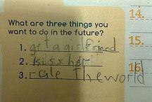 Things kids say