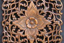 wooden Carved