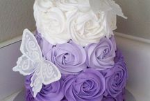 Pretty cakes and decor ate.. / Baking is an art...