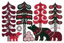 Folk Scandinavian Art