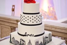 NY inspired wedding cakes