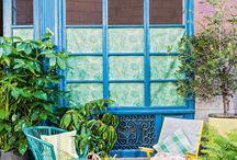 Verde que te quiero verde / Habitaciones en las que el verde es protagonistas: paredes pintadas de verde, papeles pintados, tapicerías...