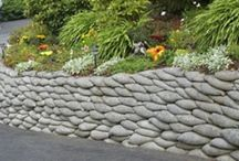 Yard: Retaining Wall / by Elizabeth Campillo