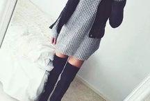 outfits botas largas