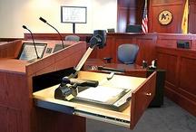 MFI Courtroom Furniture