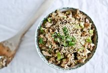 Recipes: Against the grain / Rice, quinoa, millet and other grain recipes / by Panagiota Koutsoulis