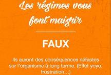 Idées reçues / STOP aux idées reçues ! Suivez le guide. --> http://blog.fitnext.com
