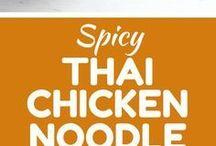 Thai Chicken noodle .