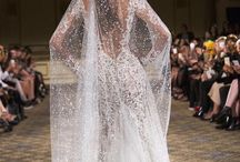 Wedding dresses and styling