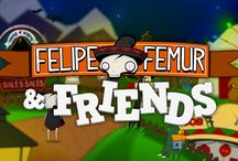 Online Games / Online games for children. Felipe Femur the skeleton with a lot of heart and his friends provide free, fun games for kids.