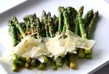 Asparagus, My Favorite Vegetable / I eat my weight in this veggie!  Steamed, baked, toasted, grilled, fried (and I don't usually do fried foods) and even raw. Delicious! / by Paula Brown