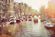 Amsterdam/Paris / by Kimberly Elaine
