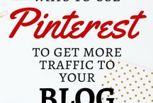 Pinterest for Bloggers / How to manage and grow your Pinterest account. Ideal for online influencers and bloggers.