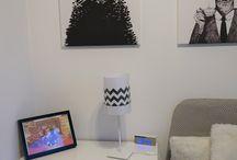Domowe biuro laminator marki Leitz jako kreatywny sposób na stworzenie dekoracji do wnętrz