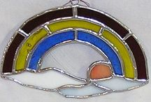 Stained Glass Suncatchers / Suncatchers made with real glass