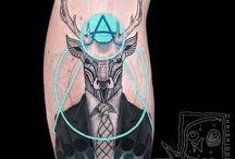 Sürreal tatoo