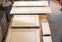 paint cupboards