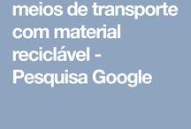 transporte material reciclado