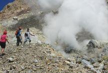 flores hiking volcanos