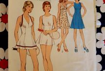 *Sewing Pattern Stash - Dresses / Sewing Patterns