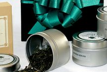 """Gift Baskets and """"Gifty"""" Ideas For Loose Leaf Tea And Coffee Lovers / Loose Tea, coffee and all the tea accessory gift ideas for any occasion: holidays, birthdays, showers, events, a simple thank you present. We've got your loose leaf tea fan covered!"""
