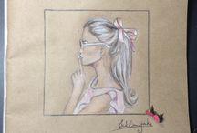 Fashion Illustration / Fashion illustration, style, fashionweek, sketch